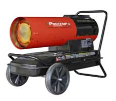 Heater rentals in Northeastern Oklahoma