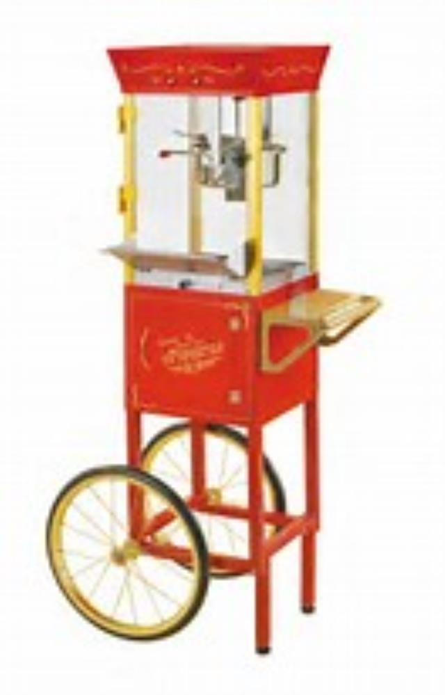 Where to find POPCORN CART RED in Miami