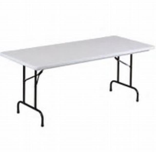 Where to find TABLE 30  X 72  POLY WHITE in Miami